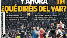 La portada del diario Sport (14/02/2019)