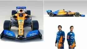 MCL34: así es el nuevo McLaren de Carlos Sainz para el Mundial de F1