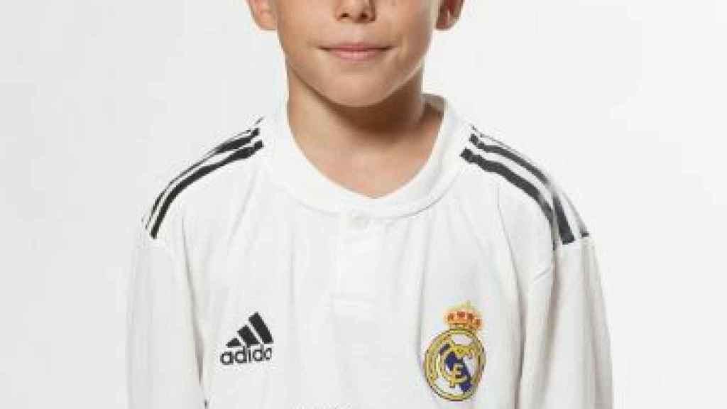 Izan, canterano del Alevín B del Real Madrid