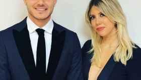 Mauro Icardi y Wanda Nara. Foto: Instagram (@mauroicardi)