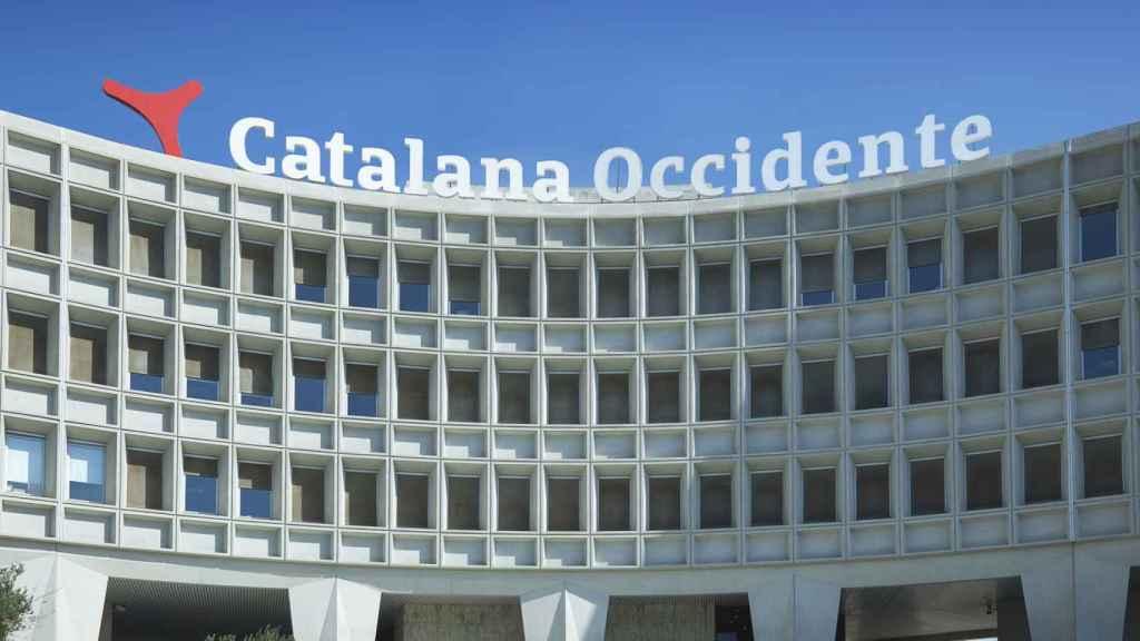 Las oficinas centrales de Catalana Occidente en una imagen de archivo.
