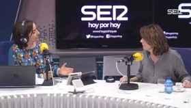 Pepa Bueno, durante una entrevista, en una imagen de archivo.