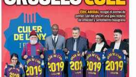 La portada del diario  (15/02/2019)