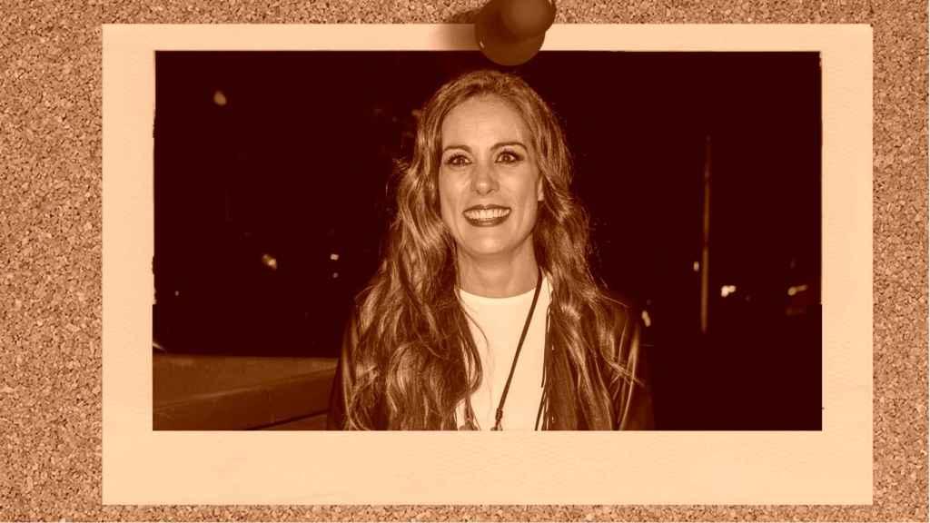 La presentadora Alicia Senovilla en un montaje JALEOS