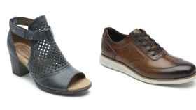 Calzado para ellos y ellas de la marca Rockport en montaje JALEOS.