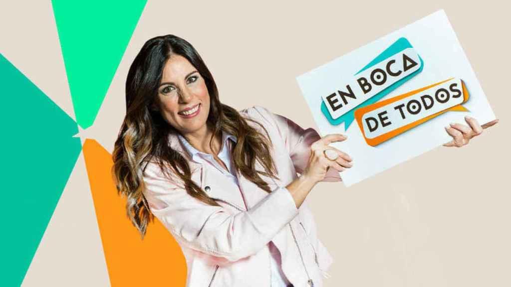Alicia Senovilla en su paso por Telemadrid.