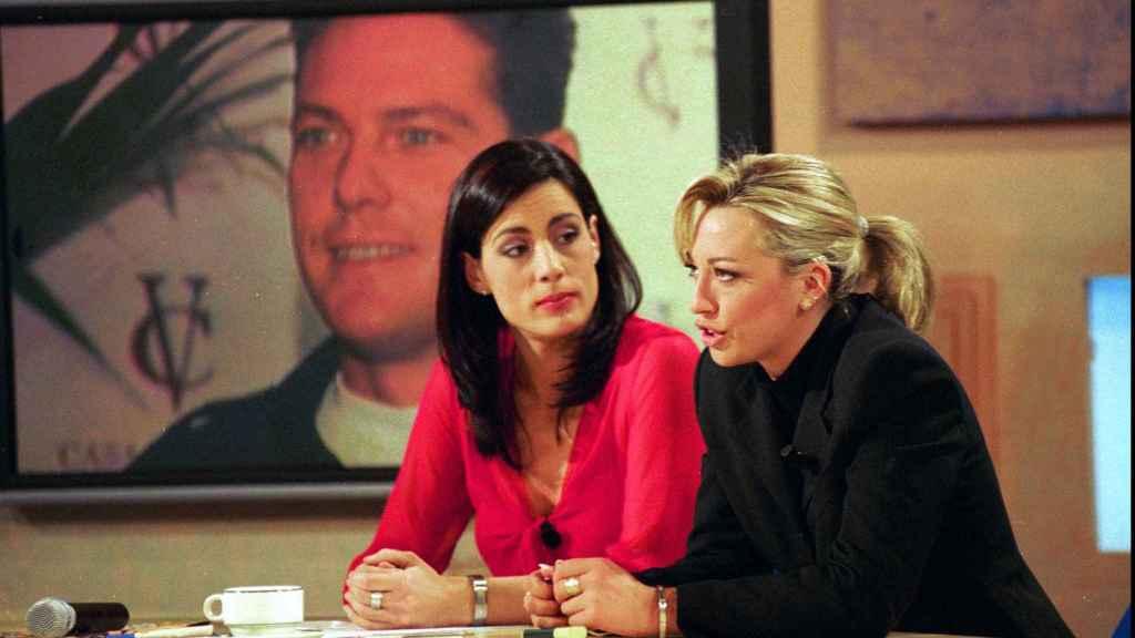 Alicia Senovilla entrevista a Belén Esteban en el año 2001