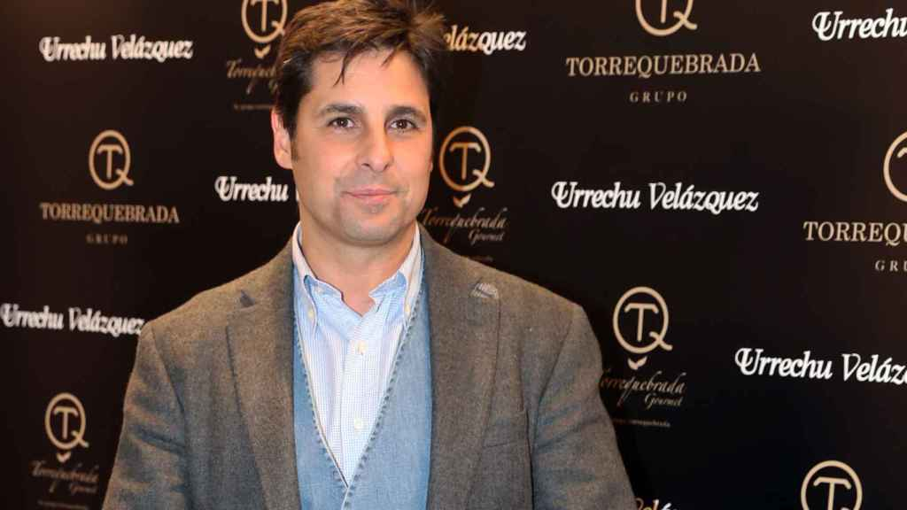 Francisco Rivera durante el evento de este jueves de Torrequebrada en el restaurante Urrechu.