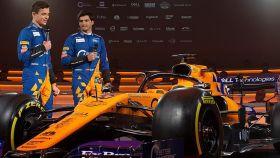 McLaren presenta su nuevo coche con Carlos Sainz y Lando Norris