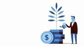 Imagen icónica sobre los fondos de inversión.