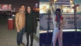 La 'parejita' y Elvis dispuesto para casar al estilo de Las Vegas.