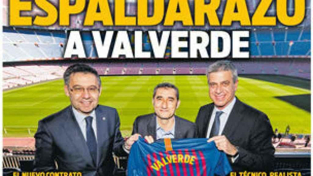 Portada Diario Sport (16/02/2019)
