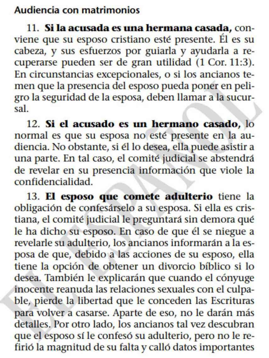 Las diferencias entre el hombre y la mujer, según los Testigos de Jehová.
