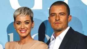 Katy Perry y Orlando Bloom en un evento celebrado en septiembre de 2018.