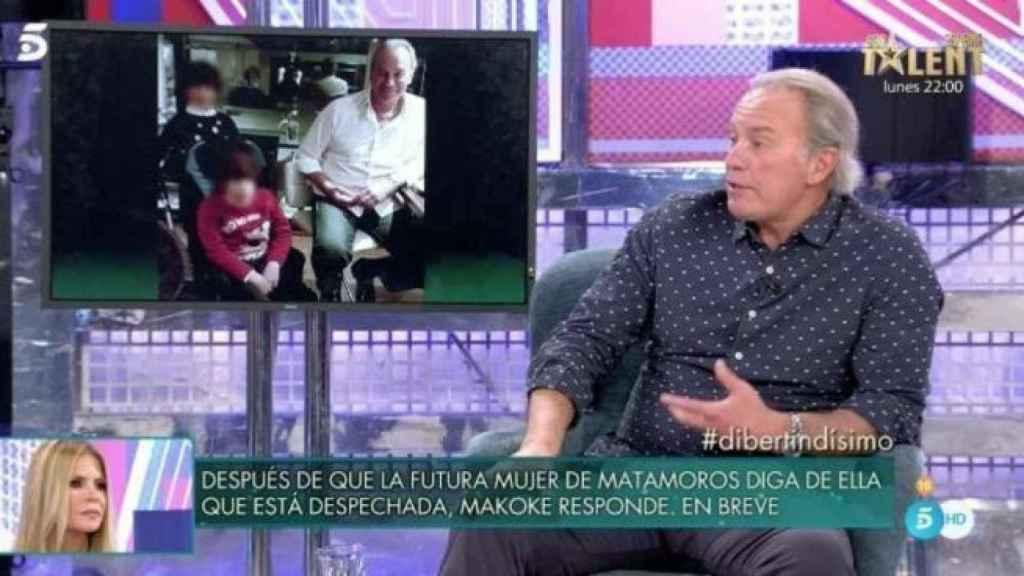 Bertín Osborne ha relatado la última hora del estado de salud de su hijo Kiko en el programa de Telecinco.