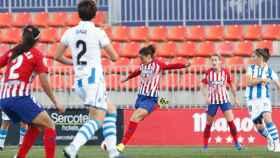 El encuentro de Liga entre Atlético de Madrid femenino y Real Sociedad