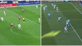 Los fuera de juego de Morata ante Real Madrid y Rayo Vallecano