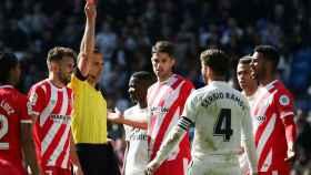 Cuadra Fernández expulsa a Sergio Ramos