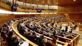 El Pleno del Senado español.