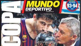 Portada de Mundo Deportivo (18/02/2019)