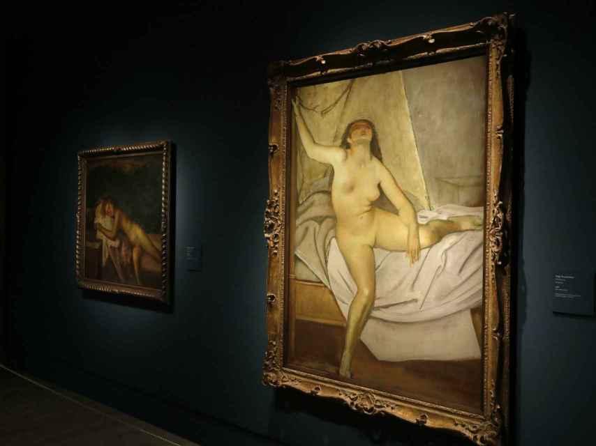 Desnudos de Balthus en el Thyssen.
