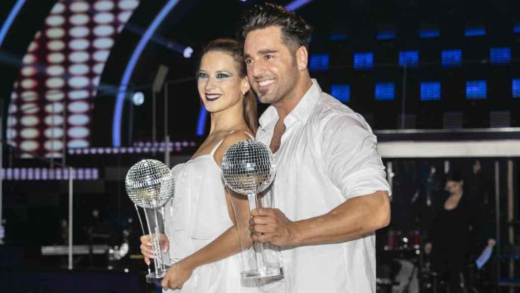 Bustamante y Yana, ganadores de 'Bailando con las estrellas'.
