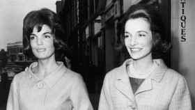 Jackie Kennedy y Lee Radziwill.