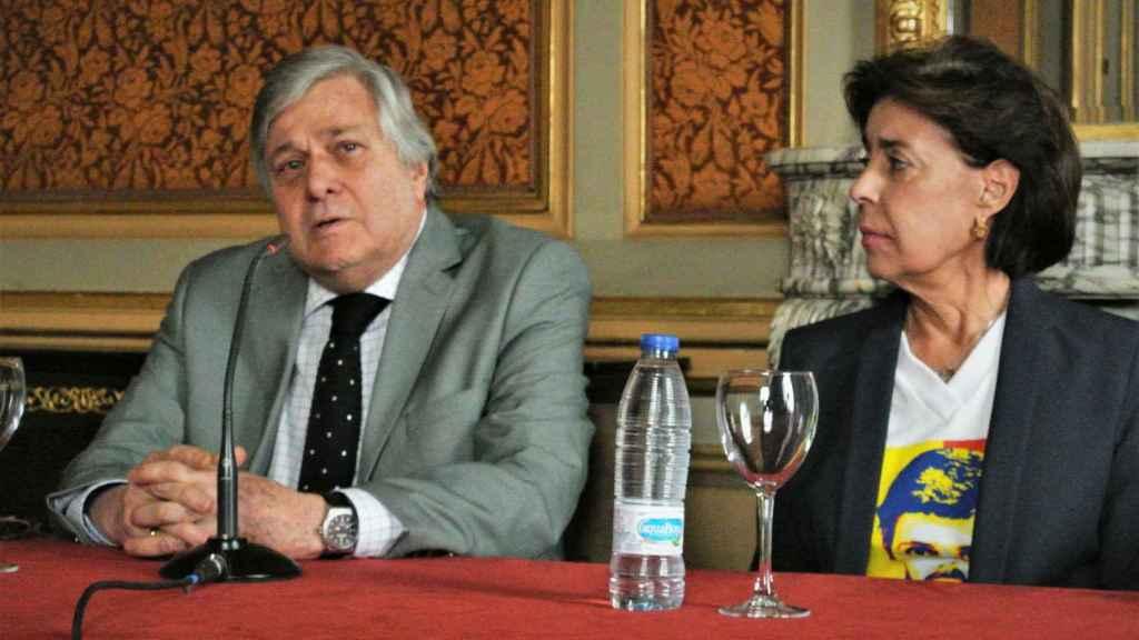 Leopoldo López Gil y Antonieta Mendoza, padres del preso político venezolano Leopoldo López.