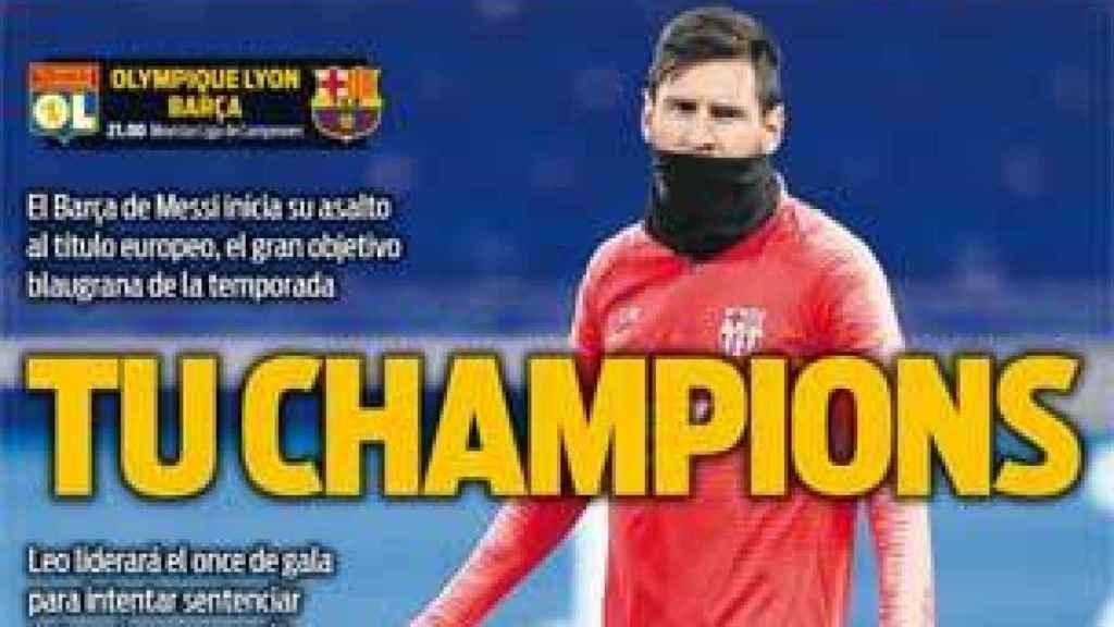 Portada Diario Sport (18/02/2019)