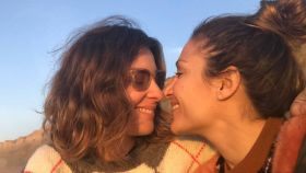Sandra Barneda y Nagore Robles en una imagen de sus redes sociales.