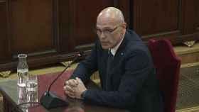 Raül Romeva en el Tribunal Supremo.