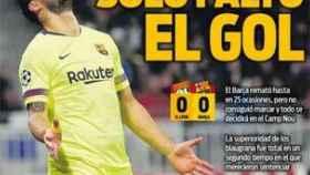 Portada Diario Sport (20/02/2019)