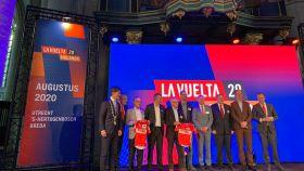 Presentación de La Vuelta a España 2020 en la ciudad de Breda. Foto: Twitter (@lavuelta)