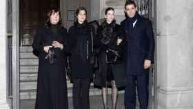 Carmen Martínez Bordiú, Cynthia Rossi, Margarita Vargas y Luis Alfonso de Borbón. (Gtres)