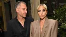 Christian Carino  y Lady Gaga en una imagen de archivo, cuando todavía eran pareja.
