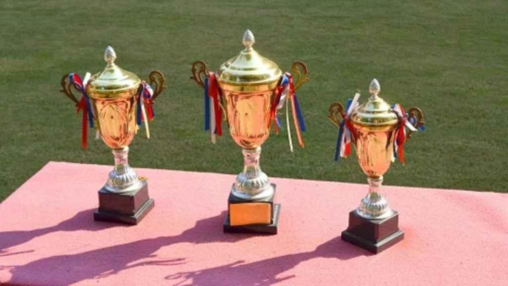 Trofeos de una competición en una imagen de archivo.