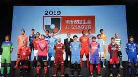 Presentación de la J-League. Foto: Twitter (@Torres)