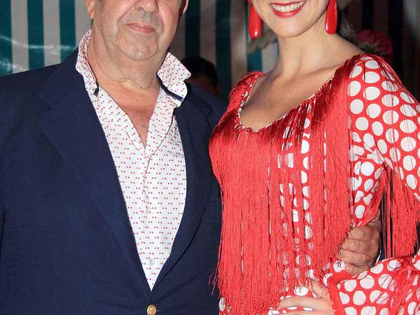 Gil Silgado y María Jesús en una imagen de archivo.
