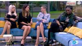 Ylenia, Raquel, María Jesús y Carolina.