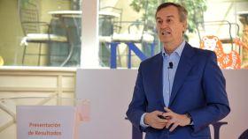 César González-Bueno, CEO de ING en España durante la presentación de resultados.