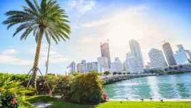 Panorámica de la ciudad de Miami.