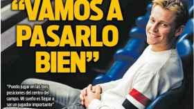 La portada del diario Sport (22/02/2019)