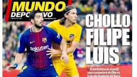 La portada del diario Mundo Deportivo (22/02/2019)