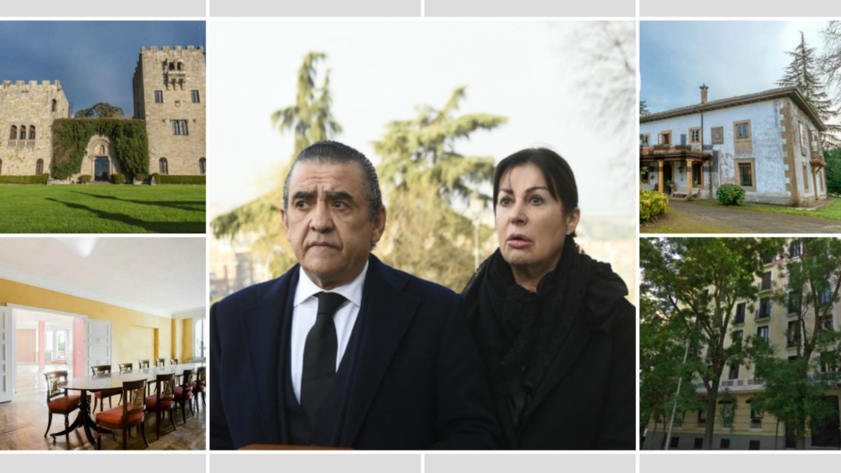El Pazo de Meirás, el palacete asturiano y sus pisos en Madrid no están logrando el interés esperado.