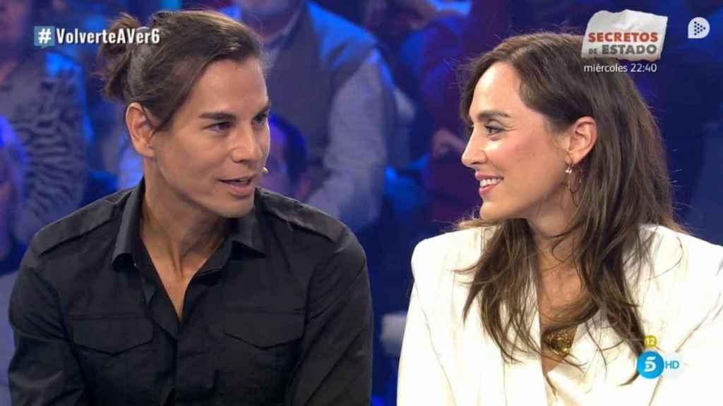 Los hermanos Julio José y Tamara Falcó en 'Volverte a ver'.