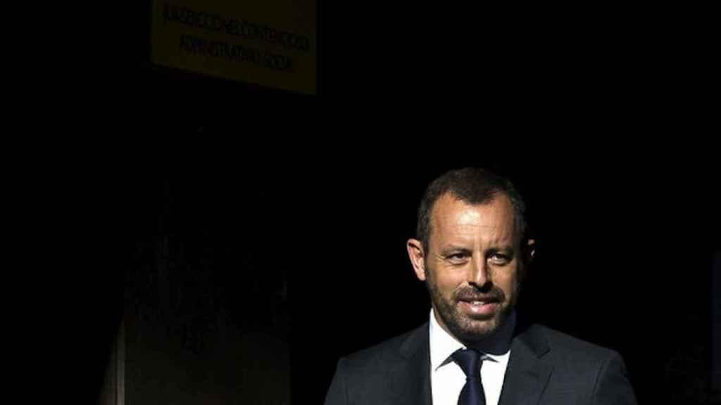 Sandro Rosell, expresidente del Fútbol Club Barcelona.