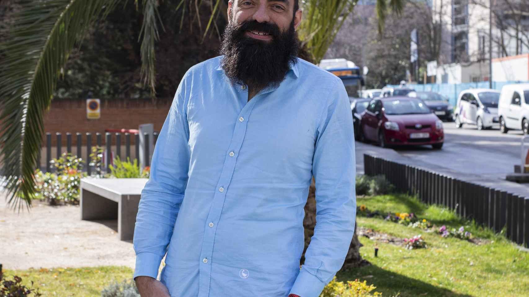 Enrique Dominguez, manager general de ElParking.
