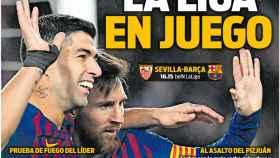 Portada del diario Sport (23/02/2019)