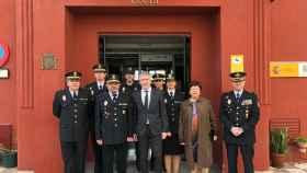 Fernando Grande-Marlaska en su viaje a Ceuta.