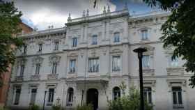 Fachada de la Fiscalía General del Estado, Madrid.